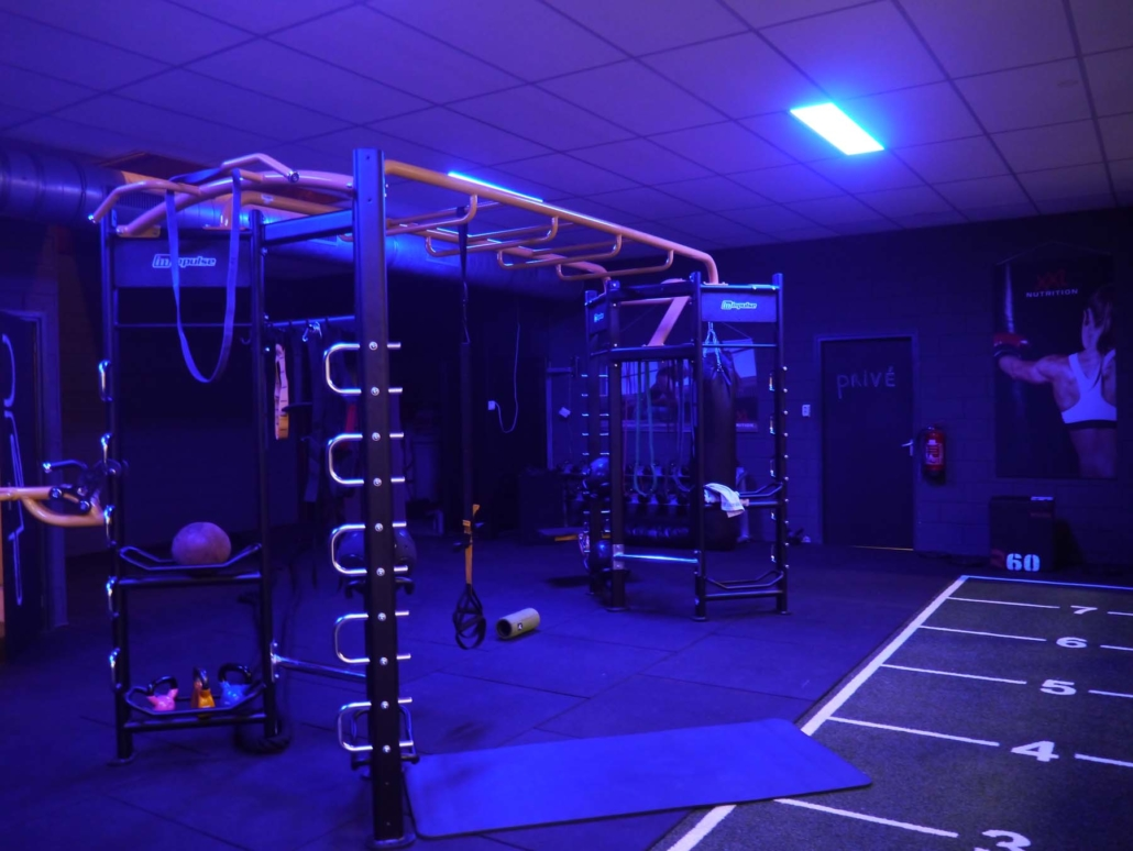 functionele training ruimte!