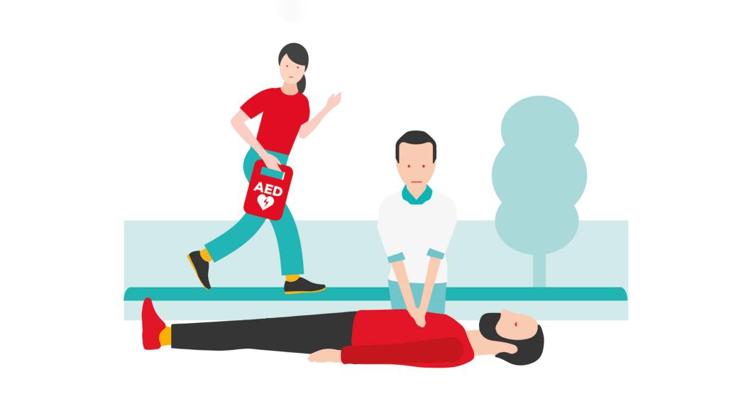 Reanimatie/AED cursus